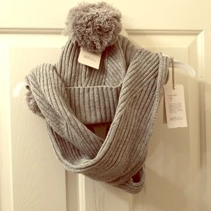 Winter scarf and hat set NWT